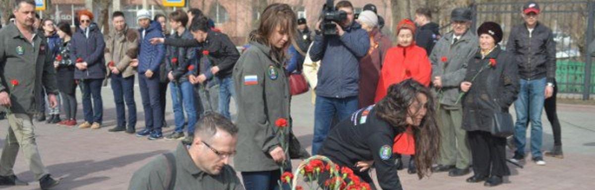«Российский кортеж из раритетных «Побед» в честь 9 Мая посетил город Кокшетау»